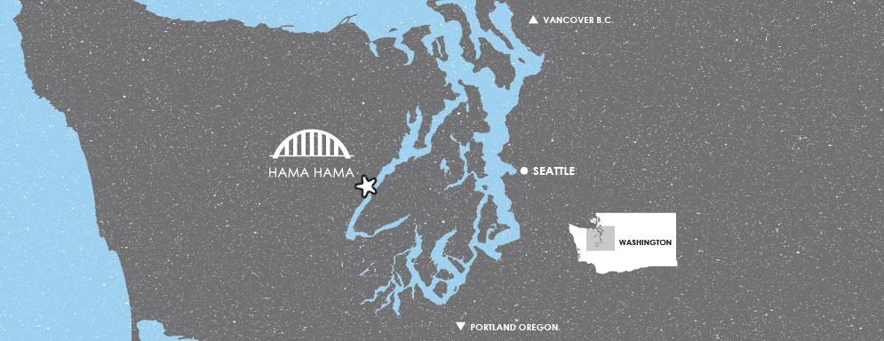 map graphic of the Puget Sound.