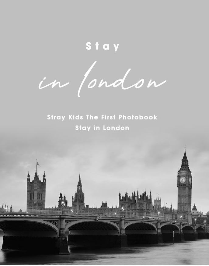 Stray Kids Official First Photobook - Stay In London