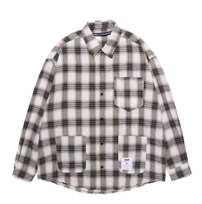 Official Aqo Over Check Shirt