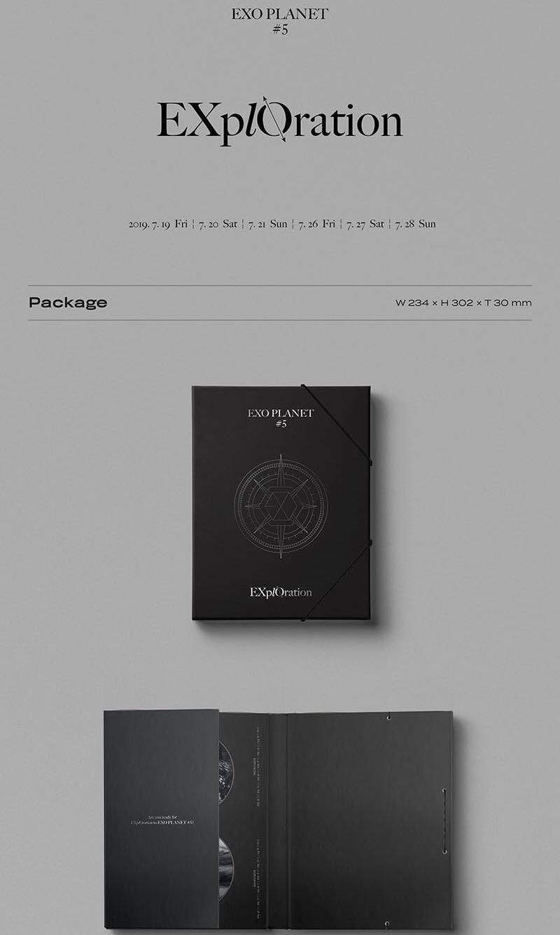 Exo Planet 5 - Photobook and Live Album - Official