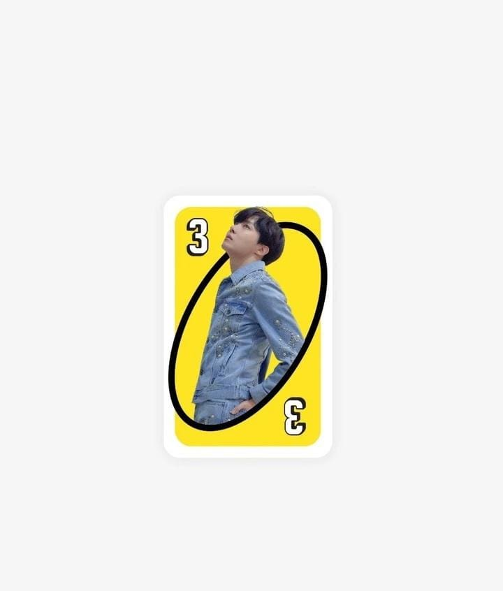 Official BTS UNO Cards