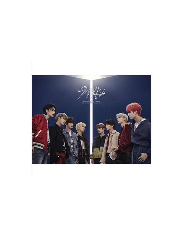 Stray Kids Japanese Version Top CD + Special Zine (Edition B)