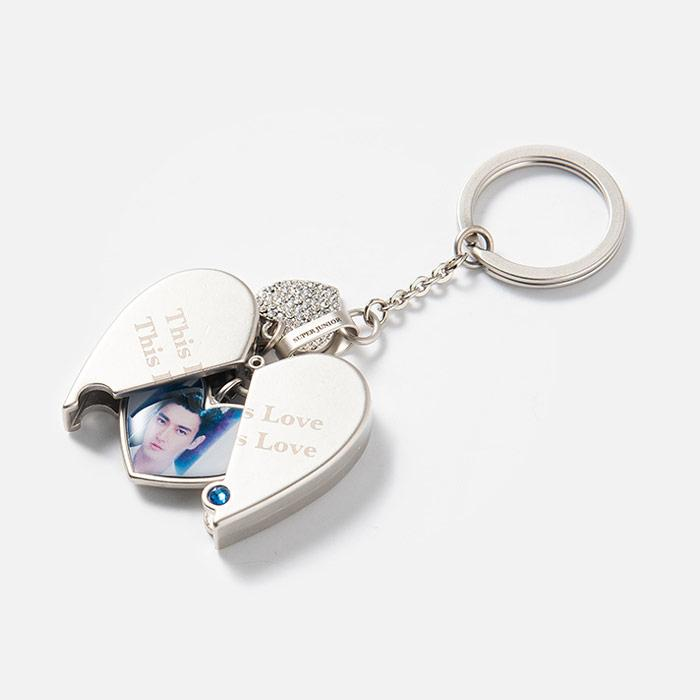 Super Junior Official Lovelove Keyring
