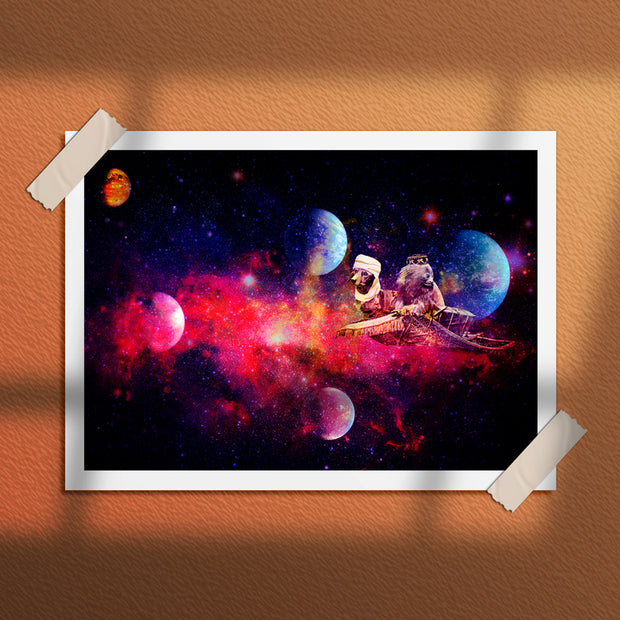 SPACE ODESSEY | FINE ART PRINT