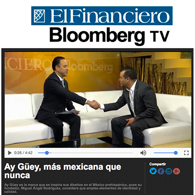 ¡Ay Güey! El Financiero Bloomberg