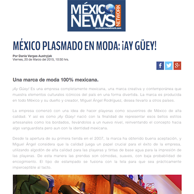 ¡AY GUEY! MEXICO NEWS