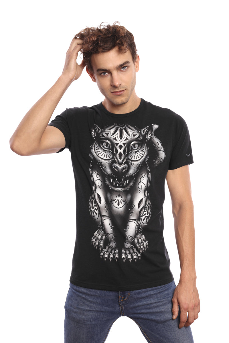 JAGUAR BARRO - T-Shirt Men - ¡Ay Güey! USA