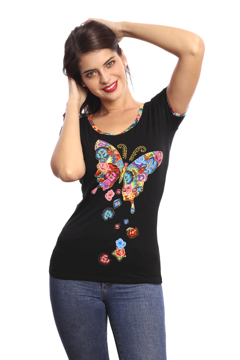 MAR DE FLORES - T-Shirt Women - ¡Ay Güey! USA
