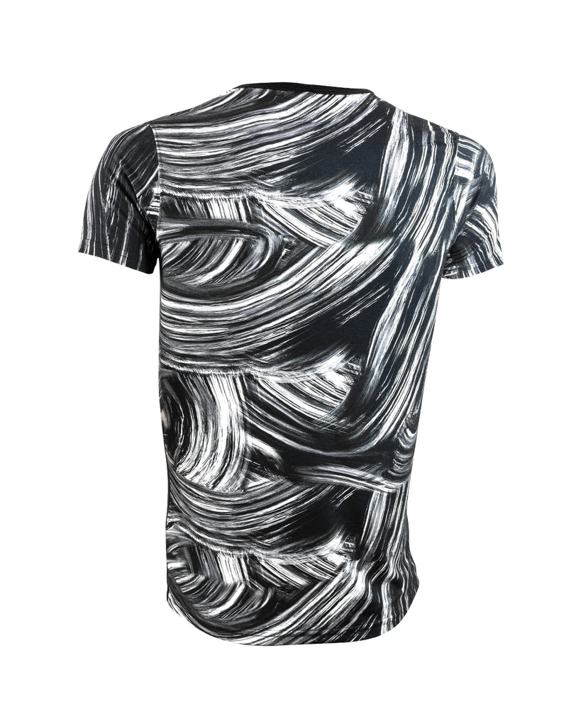 AG PUNTOS (Black & White Sublimated) - T-Shirt Men - ¡Ay Güey! USA