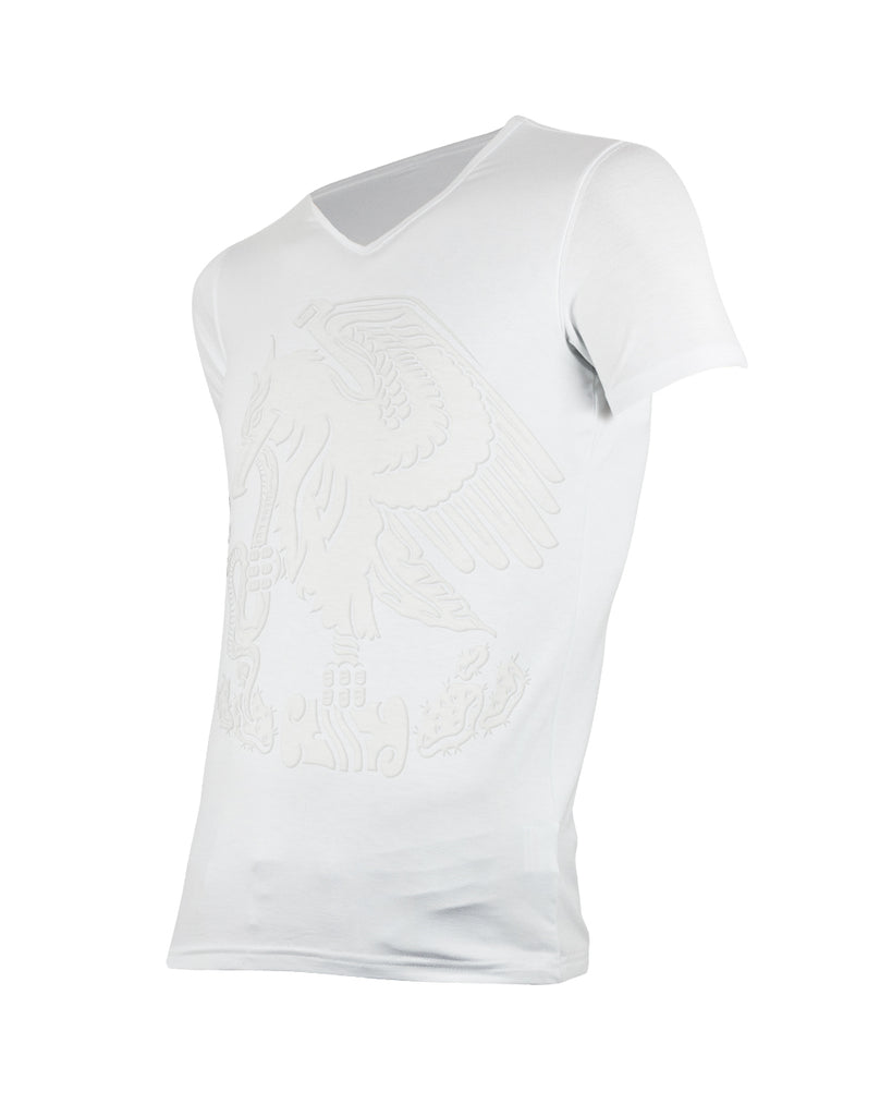 EAGLE (FLOCK WHITE) - T-Shirt Men - ¡Ay Güey! USA
