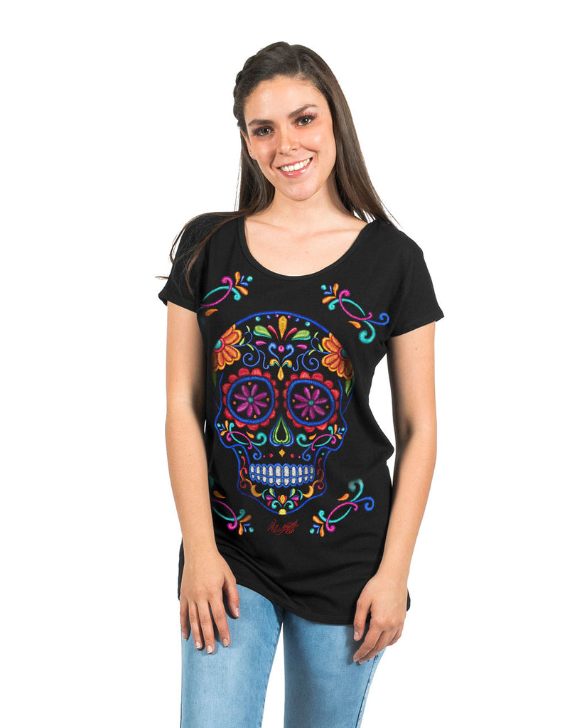 TUNIC CALACOL - T-Shirt Women - ¡Ay Güey! USA