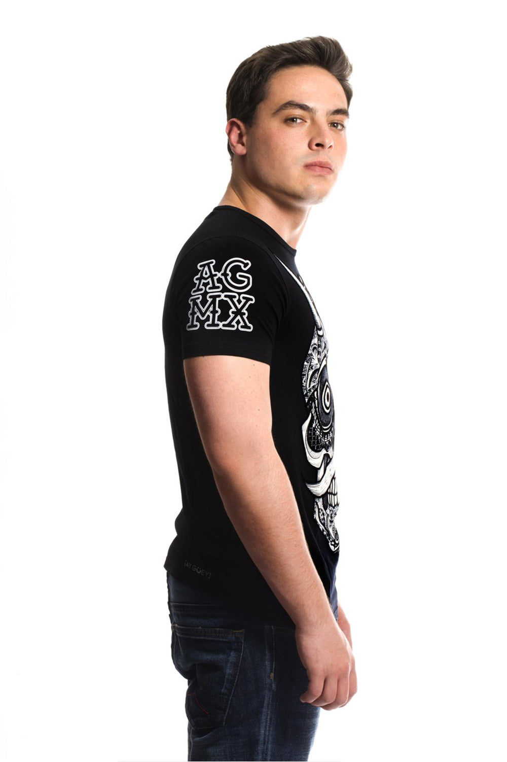 CALADIA 10 (BLACK) - T-Shirt Men - ¡Ay Güey! USA