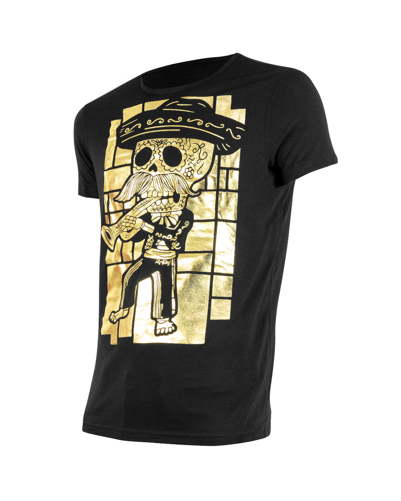 CHARRO GOLD - T-Shirt Men - ¡Ay Güey! USA