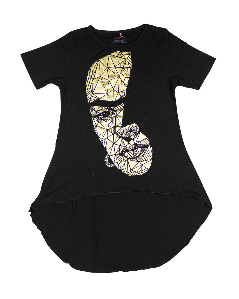 TUNIC FRIDA ORO (WOMEN) - T-Shirt Women - ¡Ay Güey! USA