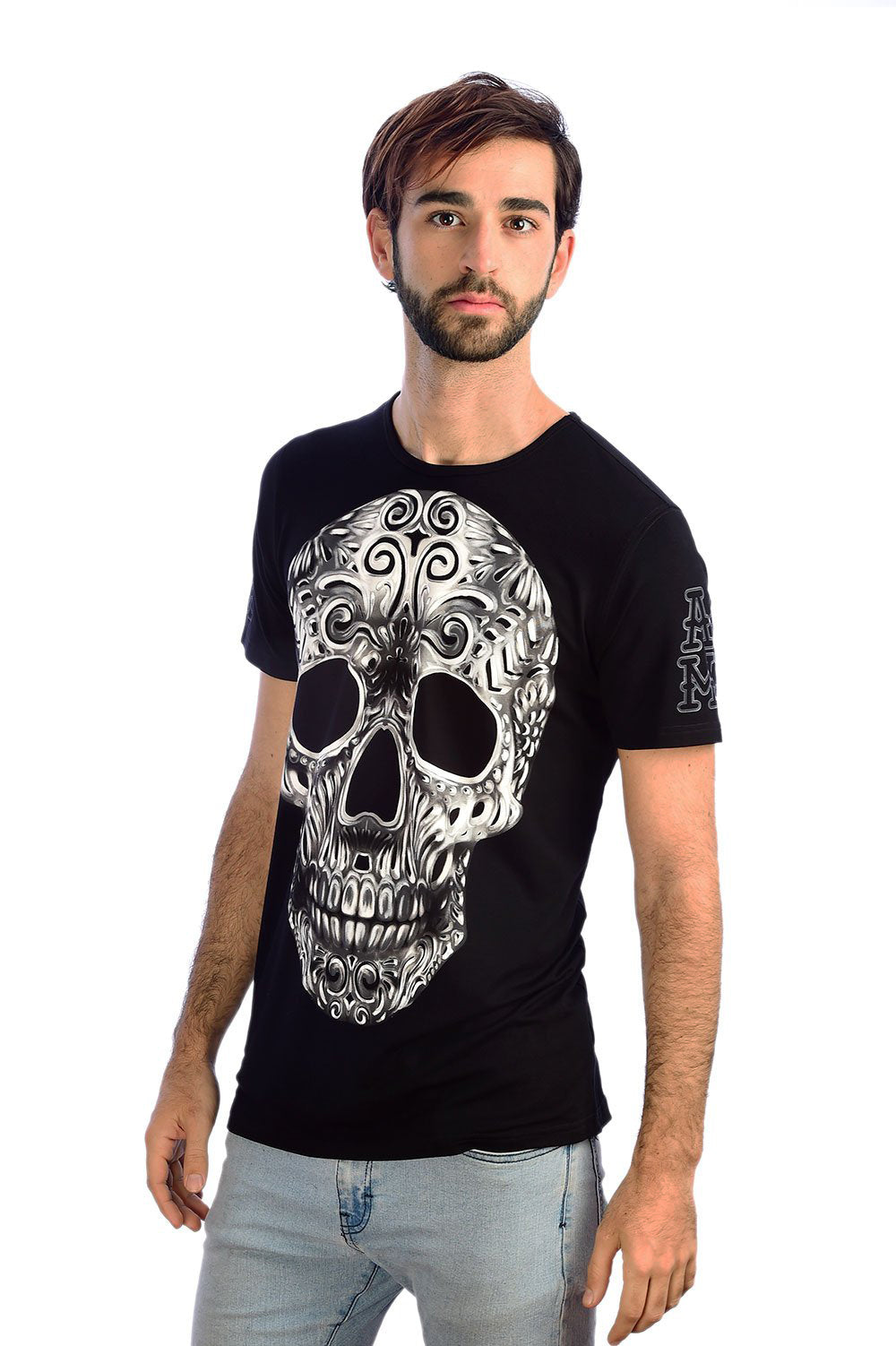 BARRO NEGRO (MEN) - T-Shirt Men - ¡Ay Güey! USA