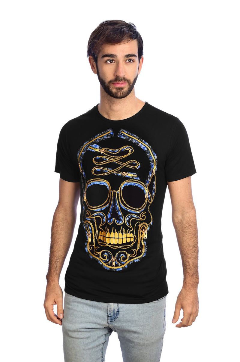 CIERRE CALAVERA - T-Shirt Men - ¡Ay Güey! USA