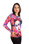 FRIDA OLEO - T-Shirt Women - ¡Ay Güey! USA