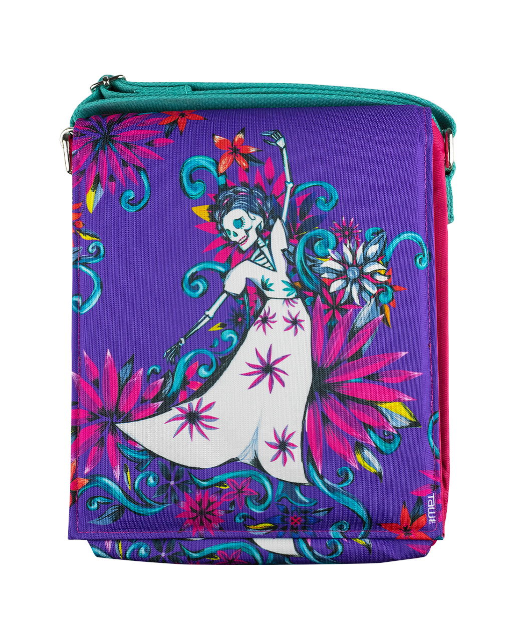 MESSENGER BAG DANZA (PURPLE) - to Women - ¡Ay Güey! USA