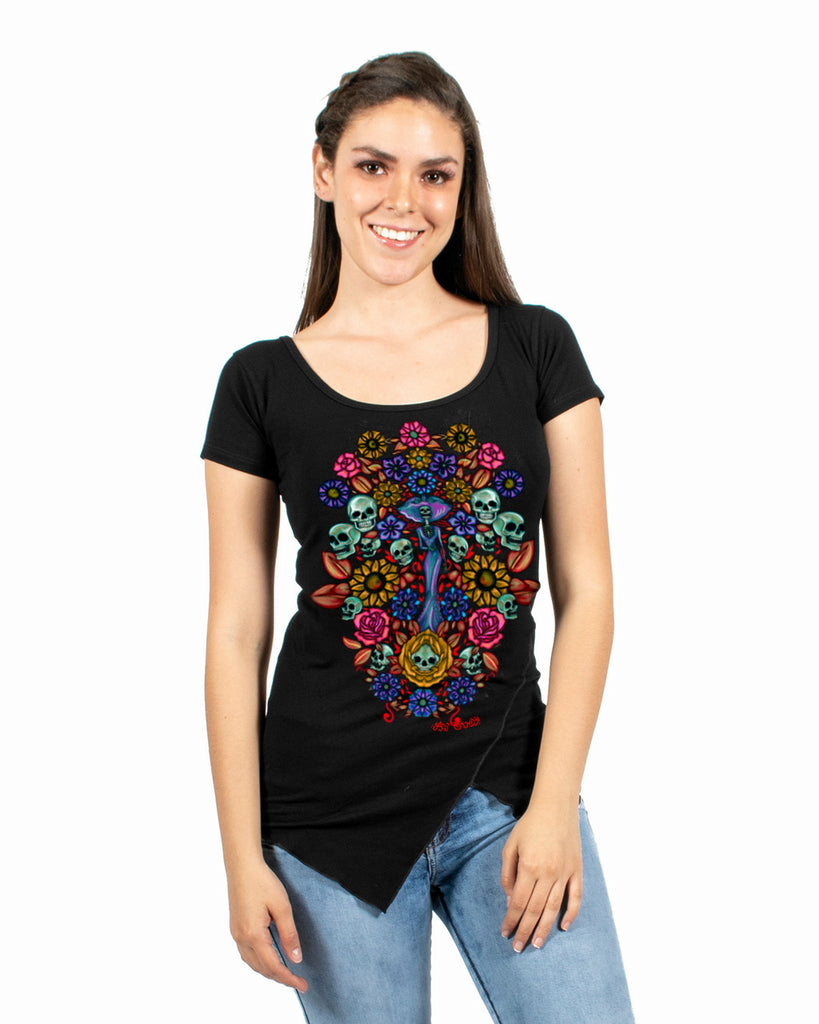 TUNIC ARBOL DE LA NO VIDA 10 - T-Shirt Women - ¡Ay Güey! USA