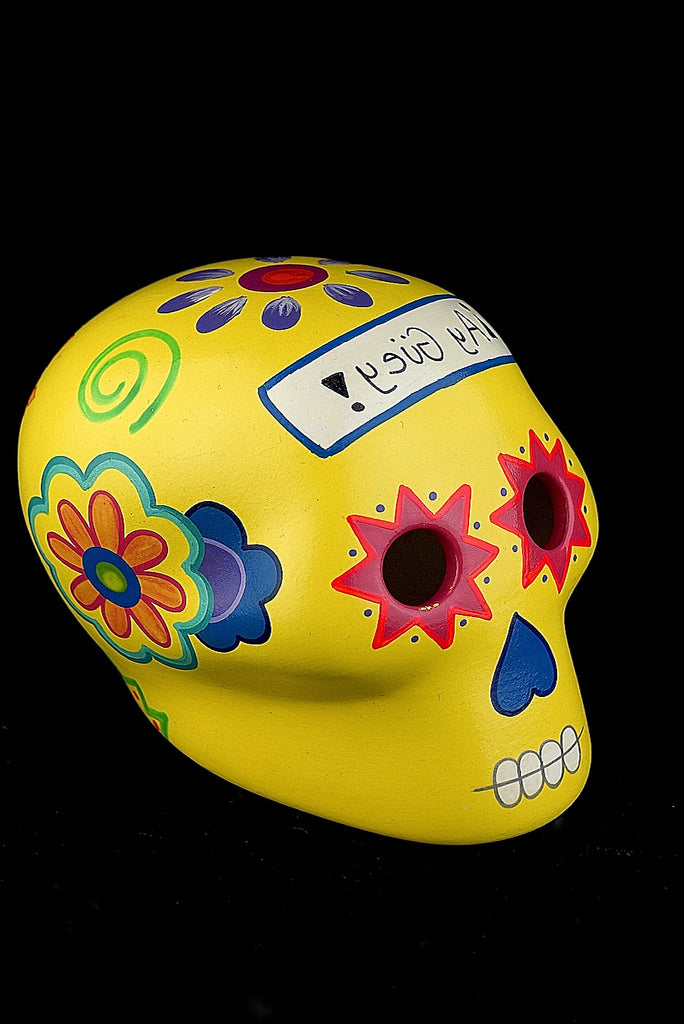 CERAMIC SKULL - Hand Craft - ¡Ay Güey! USA