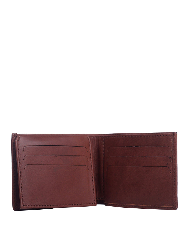 LEATHER WALLET (Tabaco) - Wallet M - ¡Ay Güey! USA
