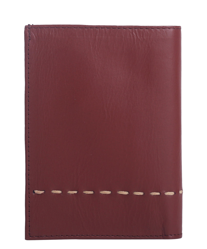 LEATHER WALLET HILO (Tabaco) - Wallet M - ¡Ay Güey! USA