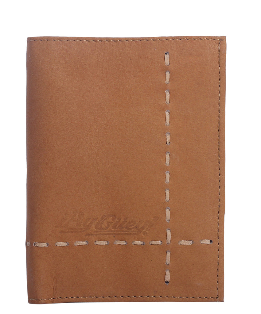 LEATHER WALLET HILO (Miel) - Wallet M - ¡Ay Güey! USA