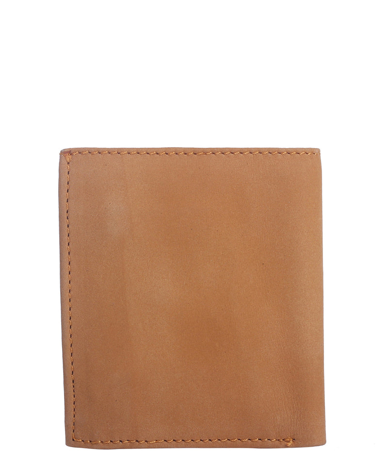 LEATHER WALLET (Miel) - Wallet M - ¡Ay Güey! USA