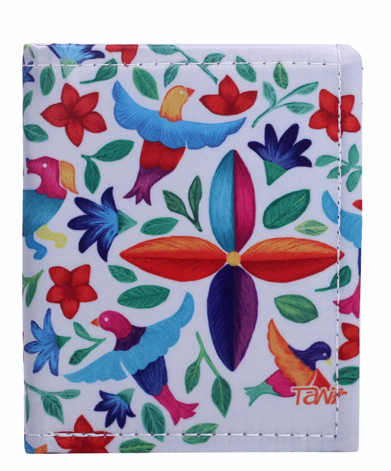 WALLET CARD HOLDER HILADO PRIMAVERA (White) - Wallet W - ¡Ay Güey! USA