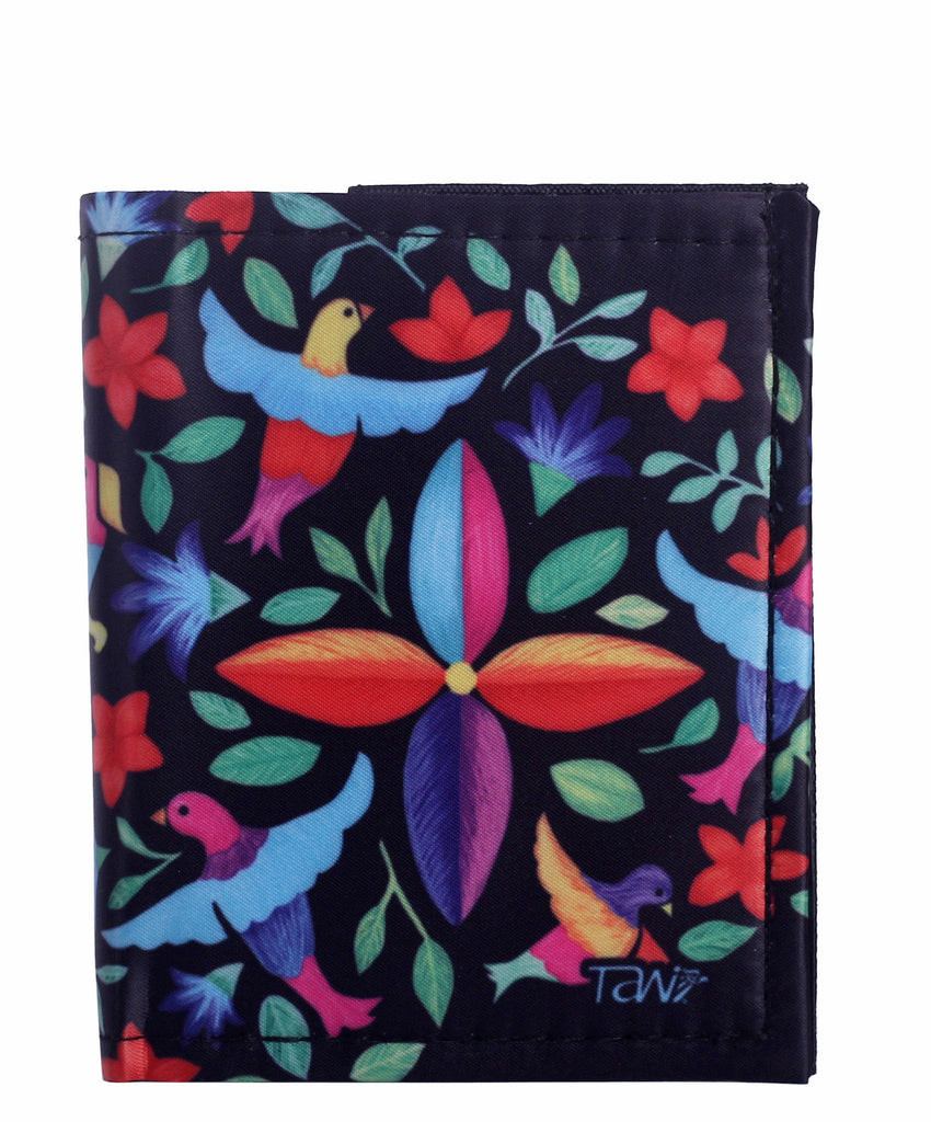 WALLET CARD HOLDER HILADO PRIMAVERA (Black) - Wallet W - ¡Ay Güey! USA