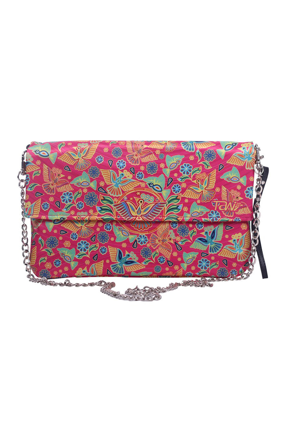 BAG TULUM TEXTIL HUICHOL (Pink) - to Women - ¡Ay Güey! USA