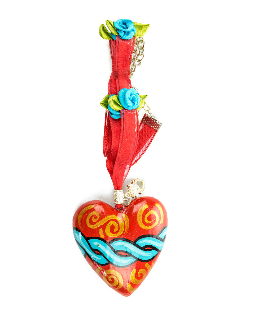 NECKLACE CORAZON SINTIGO - Neckless W - ¡Ay Güey! USA