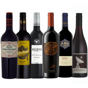 Red Wine Monthly Subscription - 6 Bottles
