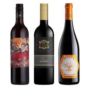 WINE CLUB Red Wine Monthly Subscription - 3 Bottles for £9.99* code WINE999 at checkout