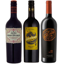 Load image into Gallery viewer, WINE CLUB Red Wine Monthly Subscription - 3 Bottles for £9.99* code WINE999 at checkout