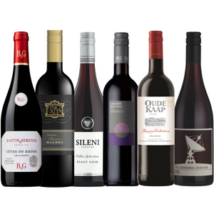 THE POWER OF SIX - RED WINE SELECTION