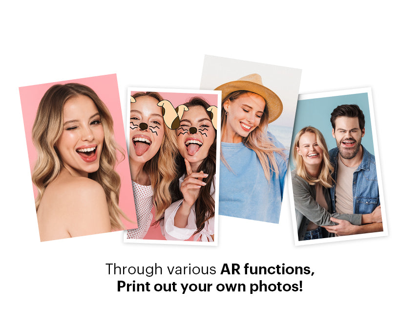 Print out your own photos with through various AR functions - 4x6 Inch Kodak Photo Printer
