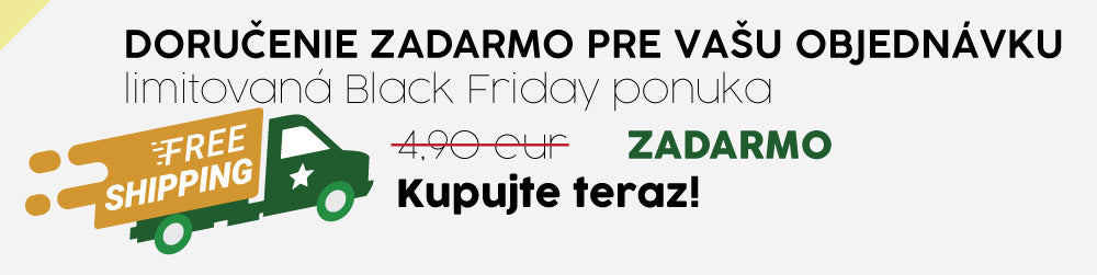 black friday doručanie
