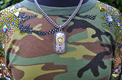 12 Gauge Shotgun Dog Tag