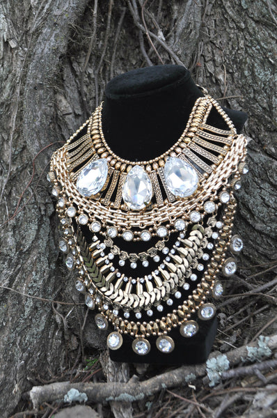 Egyptian Bib Necklace