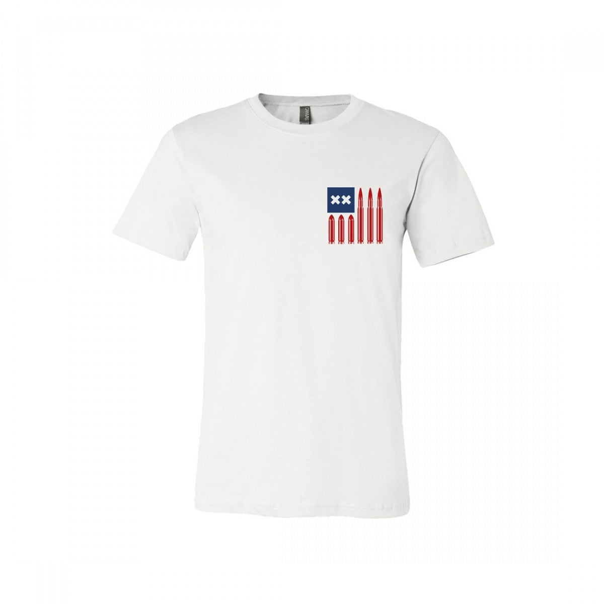 grandson bullet flag t-shirt