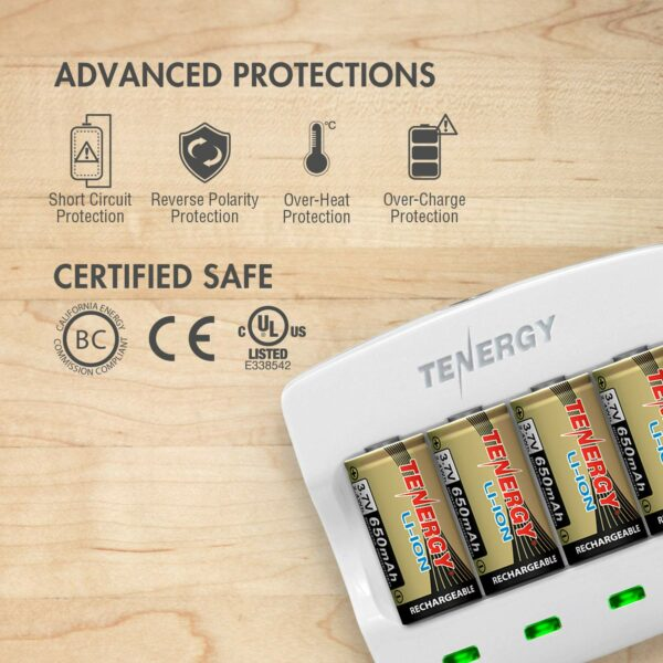 Tenergy Arlo certified rechargeable batteries x 8