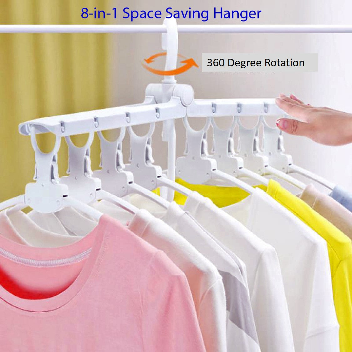 8-in-1 Space Saving Hangers
