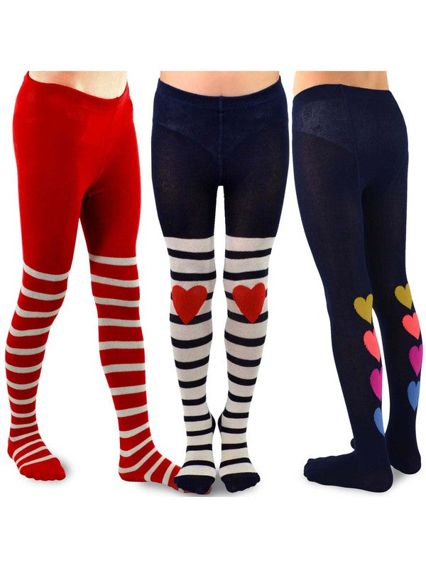 Girl's 3pc Tights Set