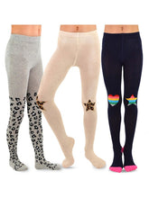 Load image into Gallery viewer, Girl's 3pc Tights Set