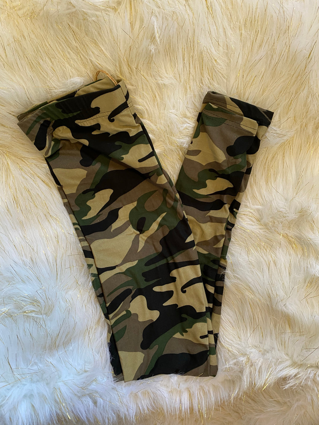 Soft Seeker Camo Plus Size Leggings