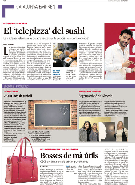 OEOE Handbags - La Vanguardia
