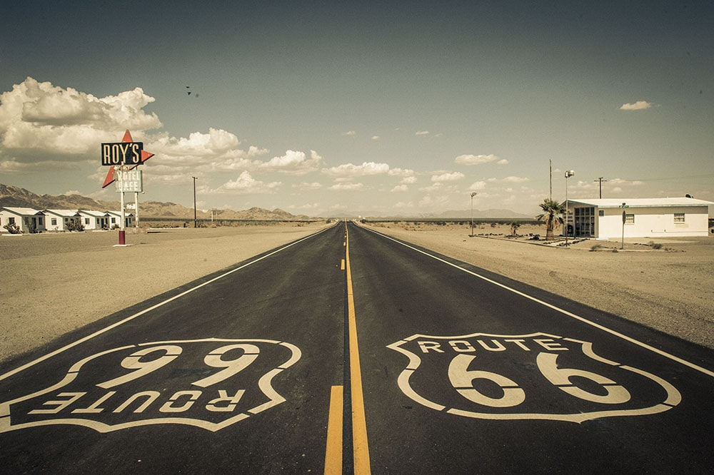 Roys Route 66 California fineart print