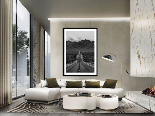 Decorate interiors with museum quality fineart prints featuring the city of Los Angeles