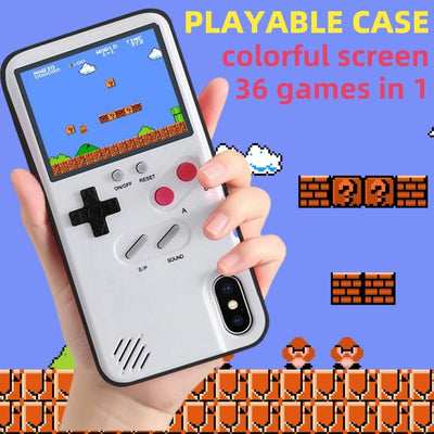 Color screen game iPhone case Niesaners